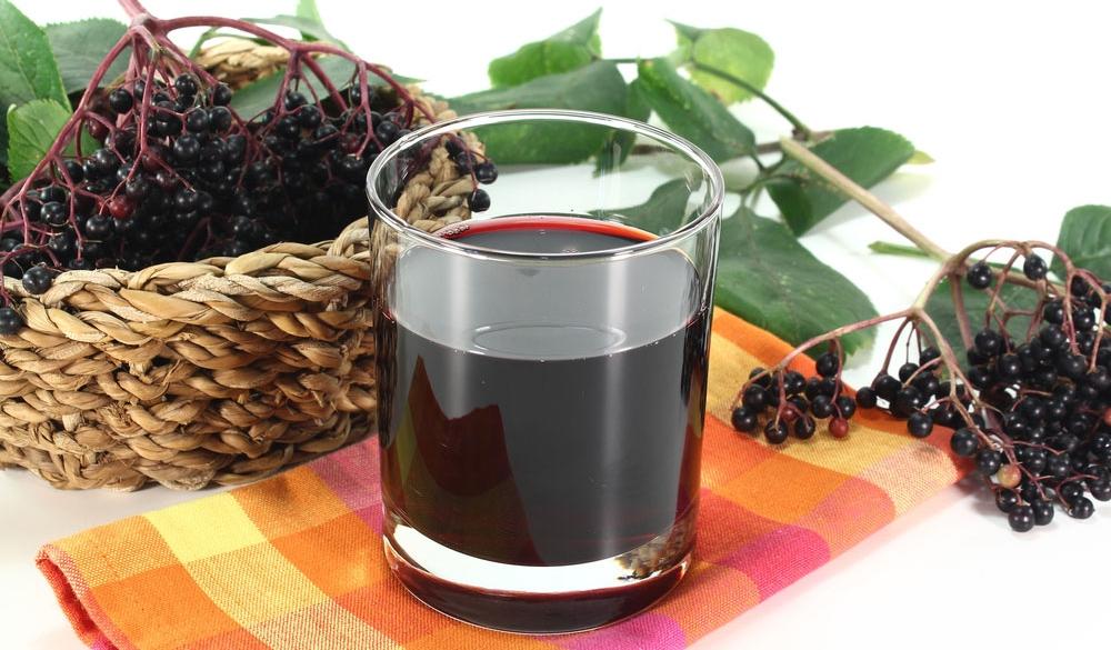 A Cup Of Elderberry Tea
